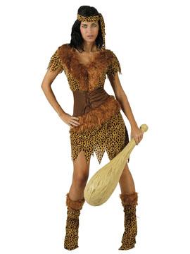 Disfraz Mujer Cavernícola Adulto