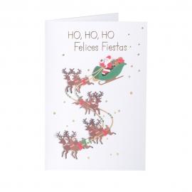 Tarjeta Felicitación Navidad C