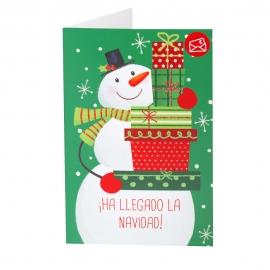 Tarjeta Navidad Para Regalar Dinero A