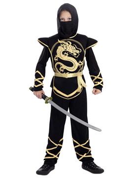 Disfraz Niño Ninja Dragón Dorado Infantil