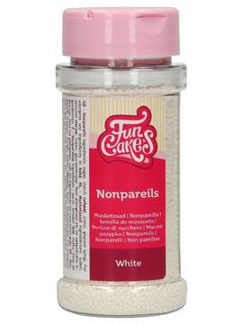 Nonpareils Funcakes blancos