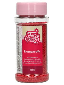 Nonpareils Rojos 80 gr Funcakes