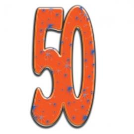 Número Decorativo 50 Años 180cm
