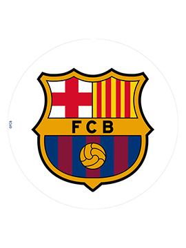 Oblea comestible escudo Barcelona 20cm