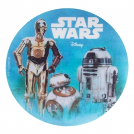 Oblea Star Wars Androides 20cm