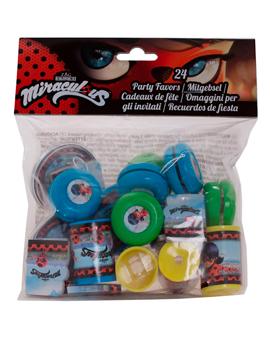 Pack 24 Juguetes Ladybug Piñatas - Miles de Fiestas