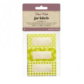Pack 30 etiquetas adhesivas para Botes Verde Jardín
