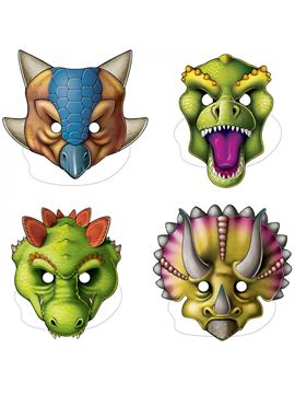 Pack 4 Caretas Dinos