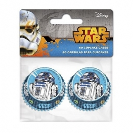 Pack 60 cápsulas minicupcake de Star Wars