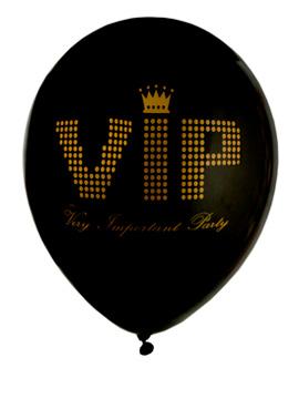 Pack 8 Globos VIP 23 cm