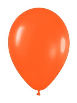 Pack de 10 Globos Naranja Mate 30 cm