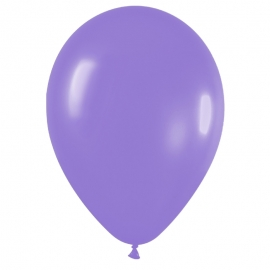 Pack de 100 globos color Lila Mate 12cm