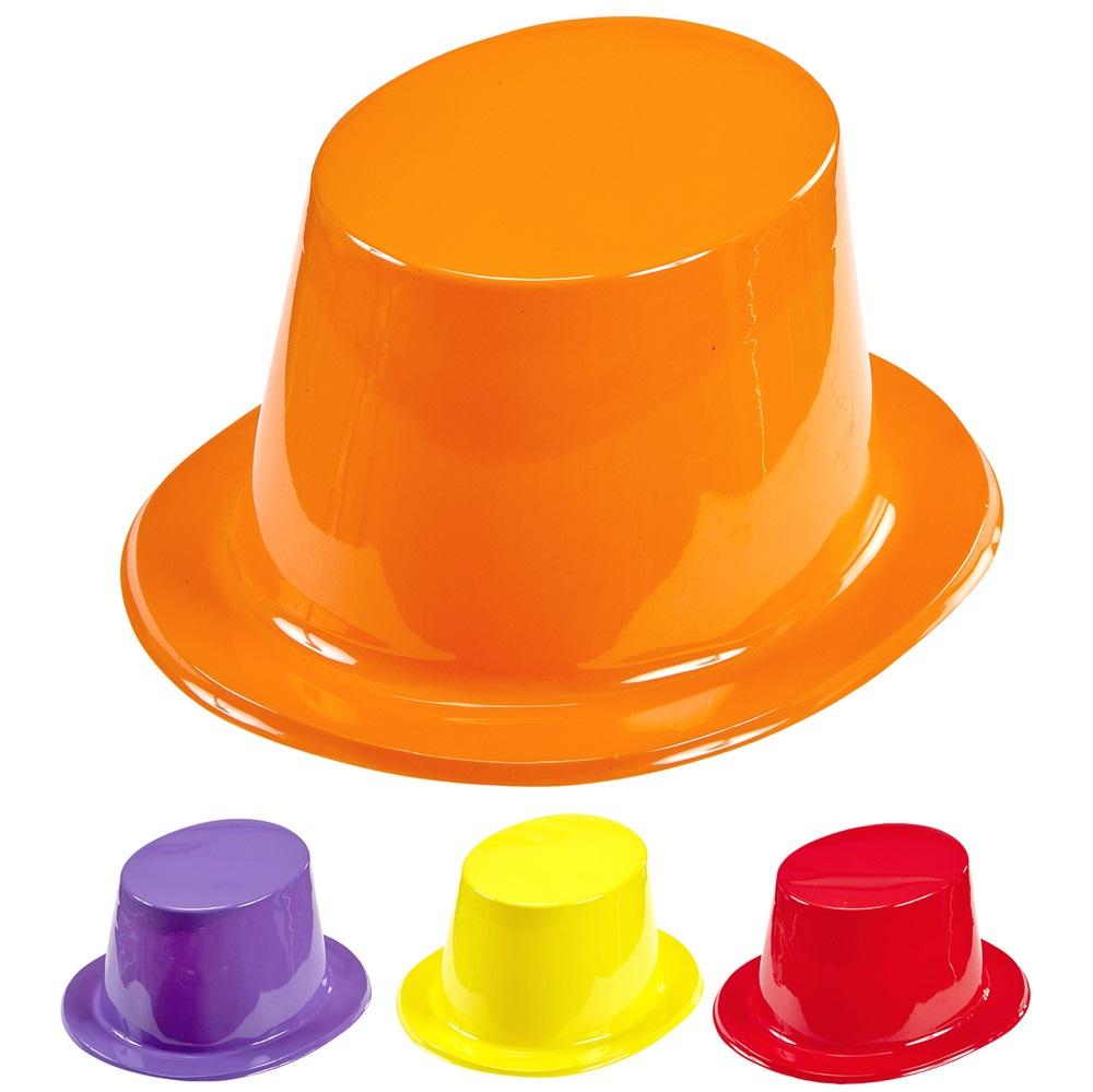 12 Sombreros de Copa de Colores - Comprar Online  Miles de Fiestas  981c7f078ca