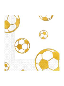 Pack de 15 Servilletas Balón de Oro