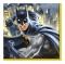 Pack de 16 servilletas de Batman de 16,5 cm