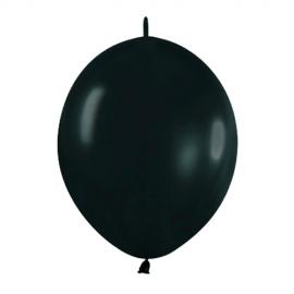 Pack de 20 Globos Linkoloon Negros 30 cm