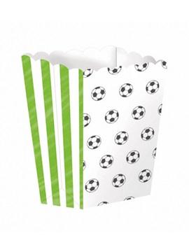 Set de 4 cajas para Palomitas Fútbol Kícker