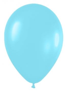Pack de 50 globos azul caribe satinado