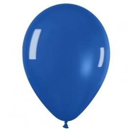 Pack de 50 globos Azul Cristal
