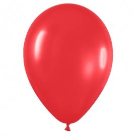 Pack de 50 Globos Color Rojo Mate