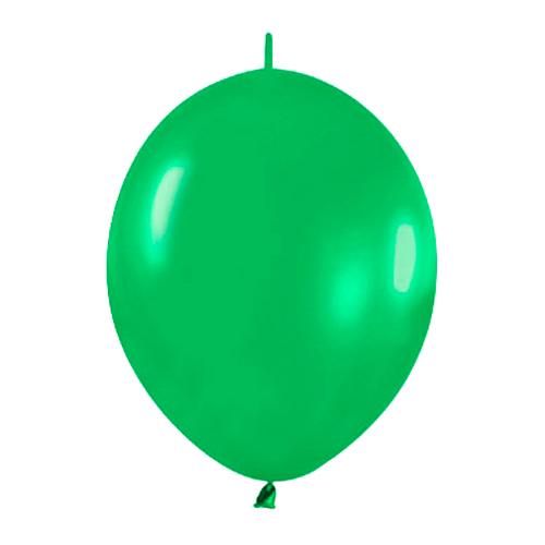 Pack de 50 Globos Link O Loon Verdes 12cm