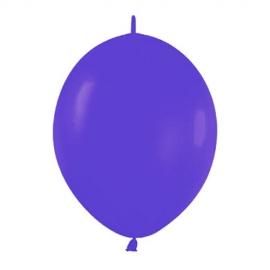 Pack de 50 Globos Link O Loon Violetas 12 cm