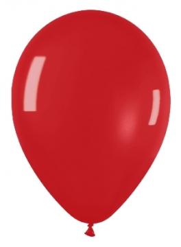 Pack de 50 globos rojo cristal