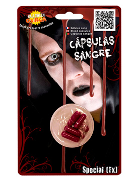 Pack de 6 Cápsulas de Sangre High Quality
