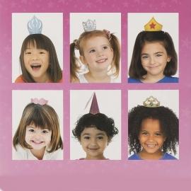 Pack de 6 mini sombreros de Fiesta Niñas