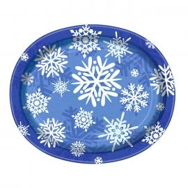 Pack de 8 Bandejas Copo de Nieve