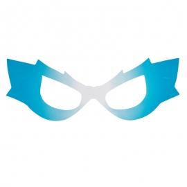 Pack de 8 Máscaras Súper Héroe Azul