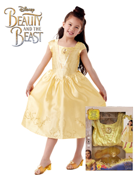 Pack Disfraz y Zapatos Bella Disney Infantil
