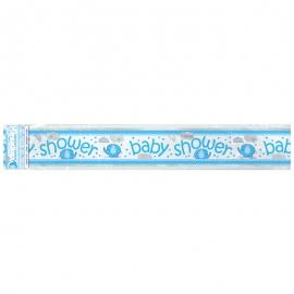 Pancarta Baby Shower Elefante Azul