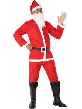 Disfraz Papá Noel Hombre Adulto Navidad