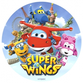 Papel de Azúcar Super Wings
