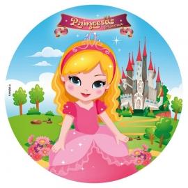 Papel de oblea Princesas Modelo A