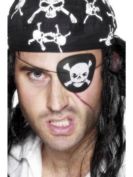 Parche Pirata con Calavera