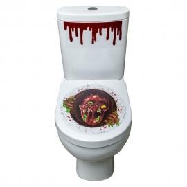 Pegatinas para el Retrete Zombie Halloween
