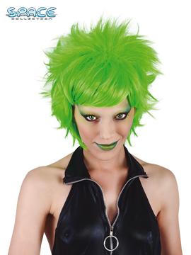 Peluca Crazy Neon Verde