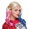 Peluca Harley Quinn Adulto