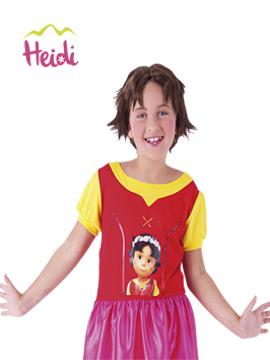 Peluca Heidi Infantil