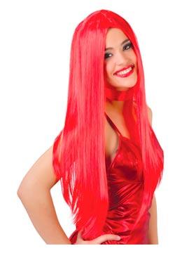 Peluca Melena Roja