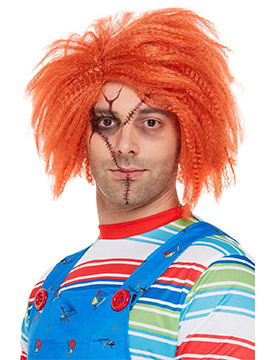 Peluca Naranja Chucky
