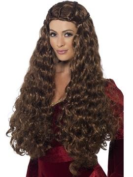 Peluca Princesa Medieval
