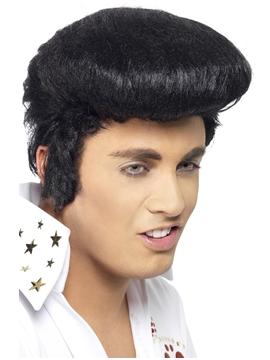 Peluca para completar tu disfraz de Elvis de Adulto