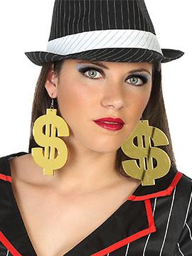 Pendientes Símbolo Dolar