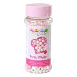 Perlas blandas Rosas y blancas