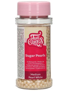 Perlas de Azúcar Blanco Perlado 80 gr Funcakes