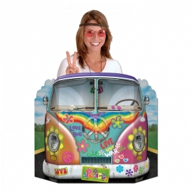 Photocall Coche Hippie