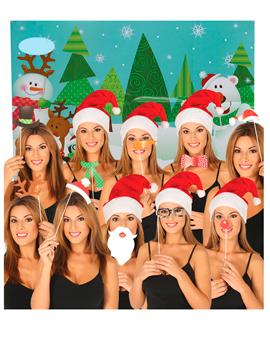 Photocall de Navidad 10 Accesorios